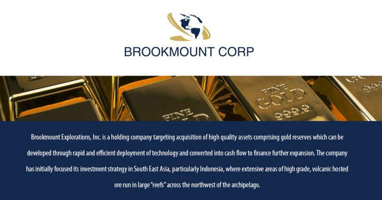 Brookmount Explorations Inc (BMXI)