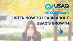 listen now to learn about usaq's growth