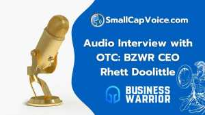 Business Warrior Corporation audio interview - smallcapvoice